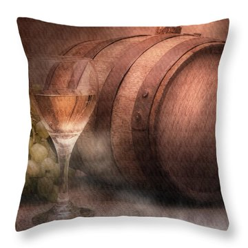 Wineglass Throw Pillows