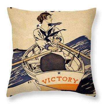 Rowing Throw Pillows