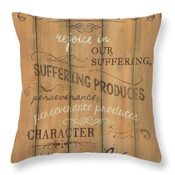 Vintage Wtlb Hope Throw Pillow by Debbie DeWitt