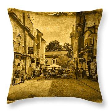 Vintage01 Throw Pillow by Svetlana Sewell