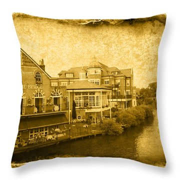 Vintage03 Throw Pillow by Svetlana Sewell