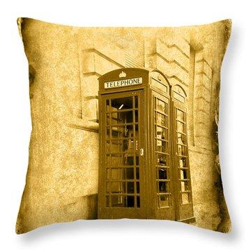 Vintage07 Throw Pillow by Svetlana Sewell