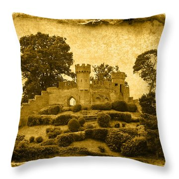Vintage10 Throw Pillow by Svetlana Sewell