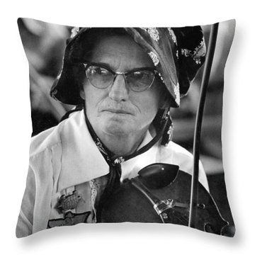 Violet Hensley Throw Pillow