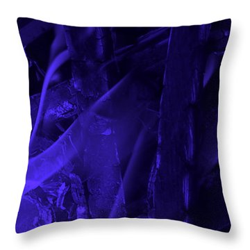 Violet Shine I Throw Pillow