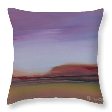 Violet Skies Throw Pillow