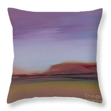 Violet Skies Throw Pillow