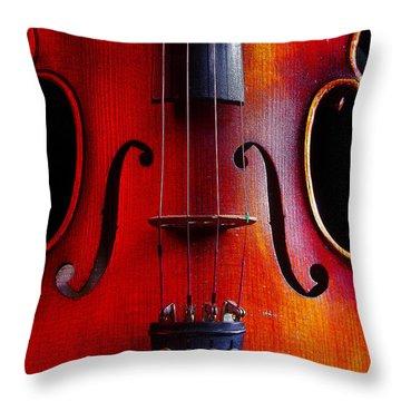 Violin # 2 Throw Pillow