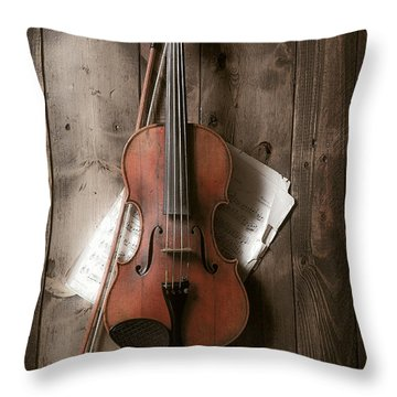 Violin Throw Pillow