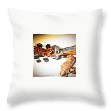 Musical Instruments Throw Pillows