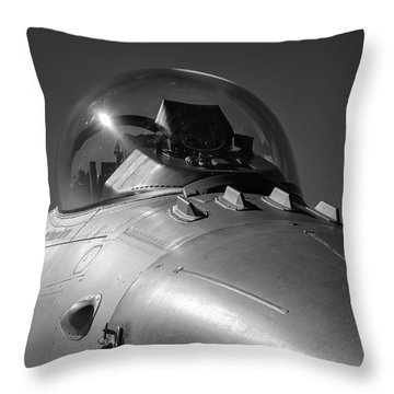 Viper Nose Throw Pillow