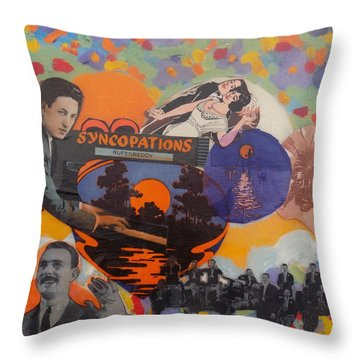 Virgil's Band Played Saturday Night Throw Pillow