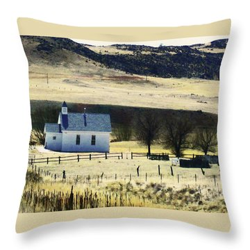 Virginia Dale Colorado Throw Pillow