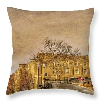 Virginia Military Institute Throw Pillow by Todd Hostetter