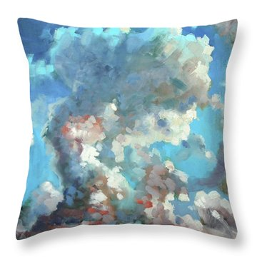 Virginia Sky Throw Pillow