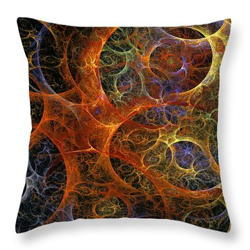 Virile Moment Throw Pillow