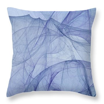 Virtus Repulsae Nescia Throw Pillow