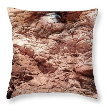 Visceral Mountain Man Throw Pillow