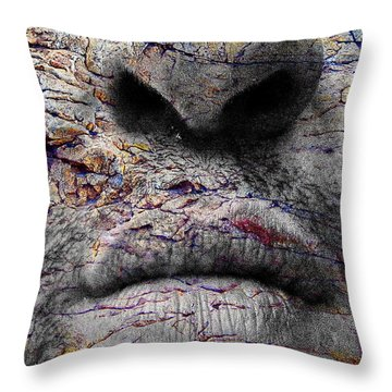 Visceral Number 78 Throw Pillow