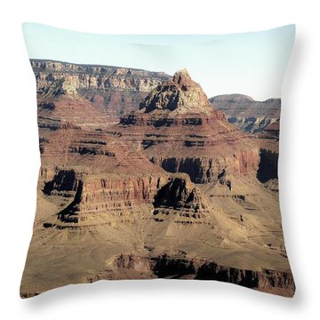Vishnu Temple Grand Canyon National Park Throw Pillow