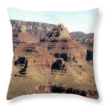 Vishnu Temple Grand Canyon National Park Throw Pillow