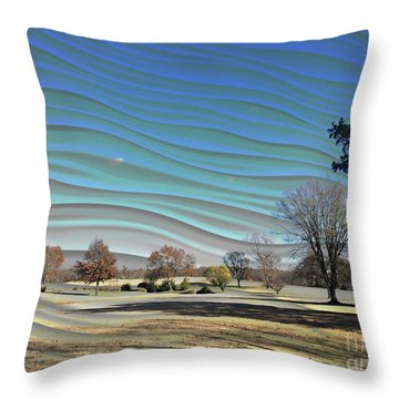 Visible Chill Throw Pillow