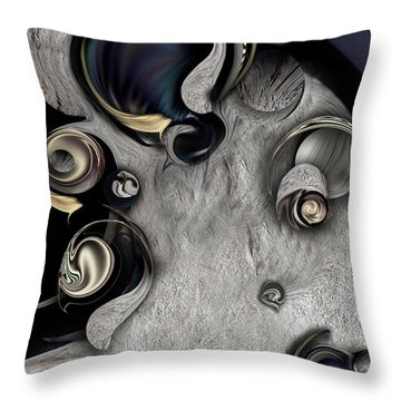 Vision Of Aesthetic Thing Throw Pillow