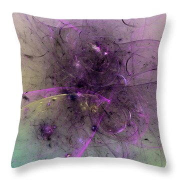 Vision Of The Twelve Goddesses Throw Pillow