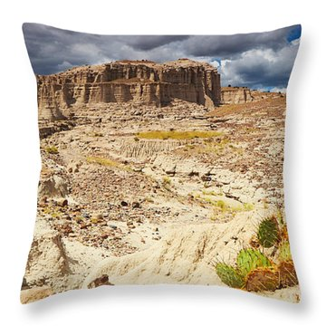 Vision Quest Throw Pillow by Kate Livingston