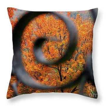 Vision Throw Pillow by Sheila Ping