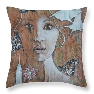 Vision Throw Pillow by Sheri Howe