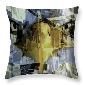 Visions Of Gold Throw Pillow
