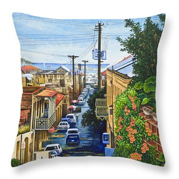 Visions Of Paradise Vii Throw Pillow