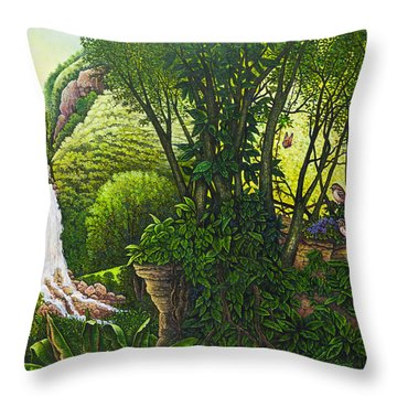 Visions Of Paradise Vi Throw Pillow