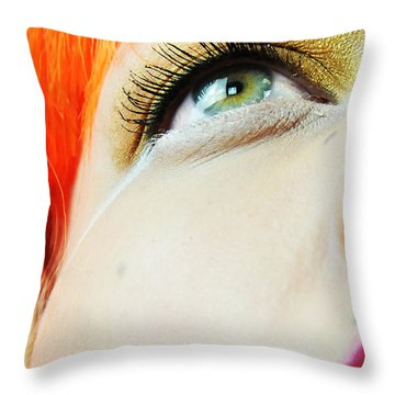 Visionworks Throw Pillow by Robert WK Clark