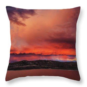 Visitation Throw Pillow