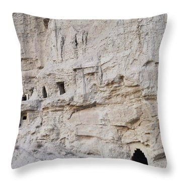 Visiting Cave Houses In Navarra Last Throw Pillow