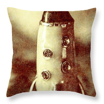 Visiting The Civilisation Of Ancient Mars  Throw Pillow