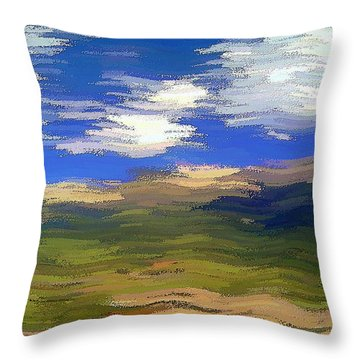 Vista Hills Throw Pillow