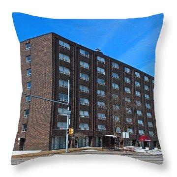 Vistula Manor Throw Pillow