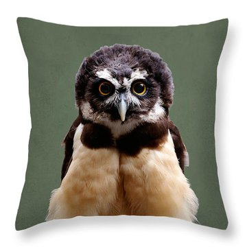 Visual Definition Of Adorable Throw Pillow