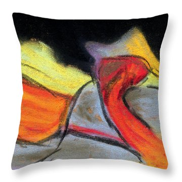 Visual Experience Throw Pillow by R Kyllo