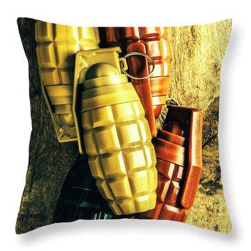 Grenade Throw Pillows