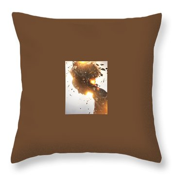 Vital Energy Throw Pillow