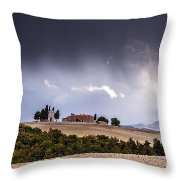 Vitaleta Chapel Throw Pillow