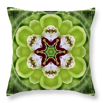 Vitality Of Love Throw Pillow