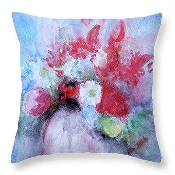 Vitality Still Life Throw Pillow by Jasna Dragun