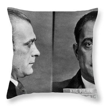 Vito Genovese (1897-1969) Throw Pillow by Granger