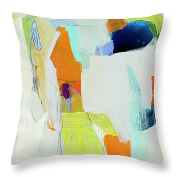 Vitreous Narcissus Throw Pillow