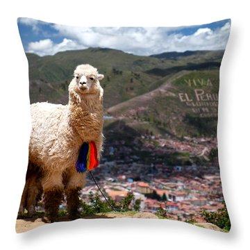 Peru Throw Pillows